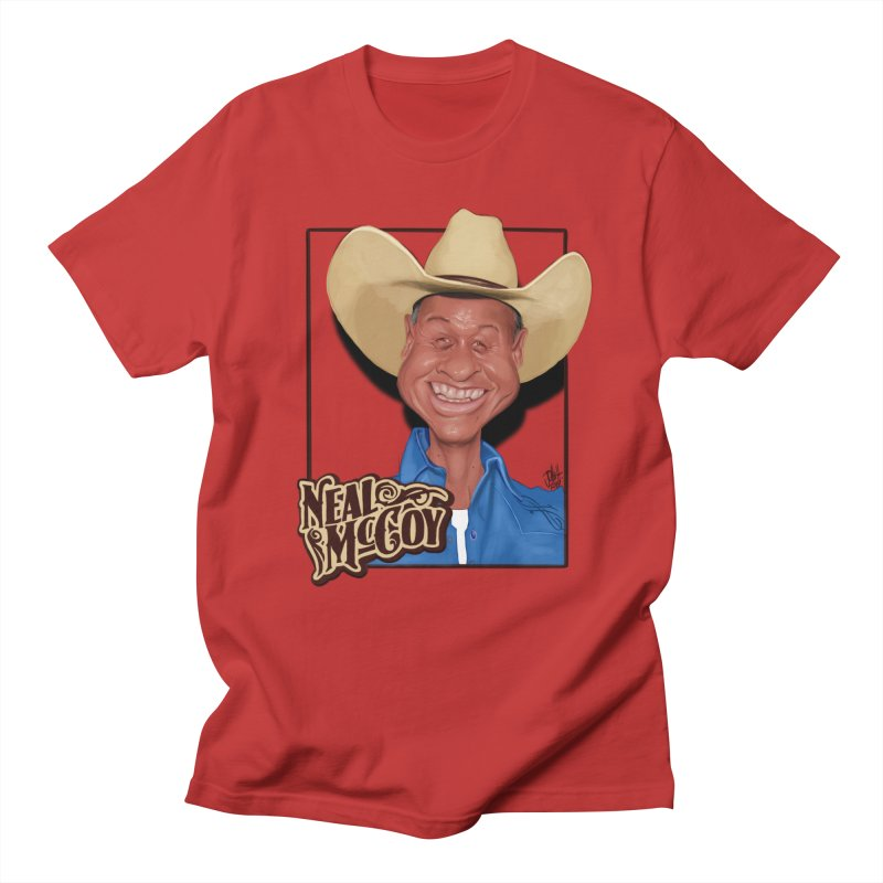 Country Legends Neal McCoy Women's Regular Unisex T-Shirt by goofyink's Artist Shop