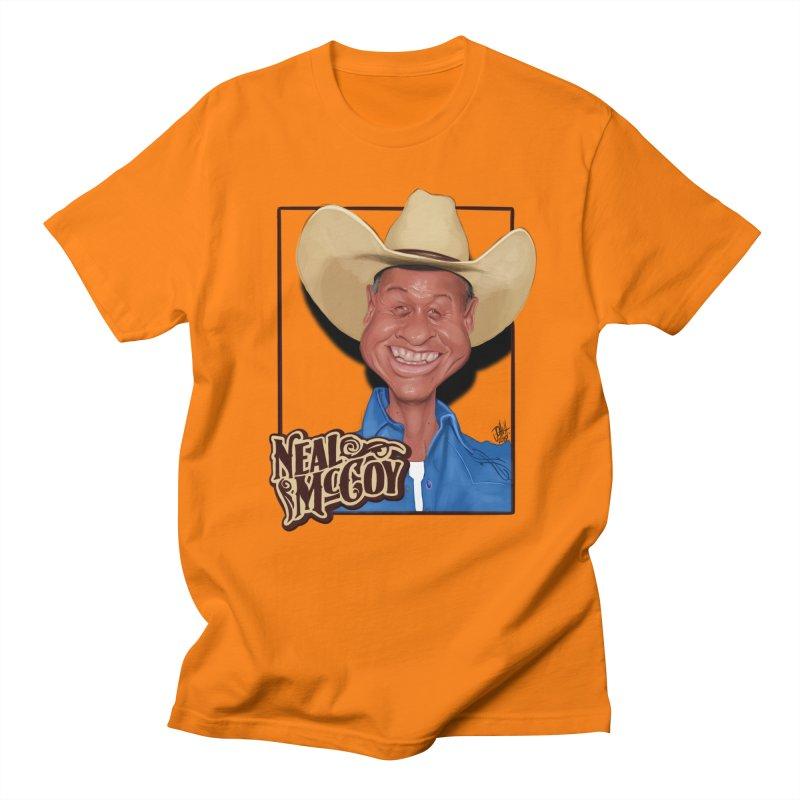 Country Legends Neal McCoy Men's Regular T-Shirt by goofyink's Artist Shop