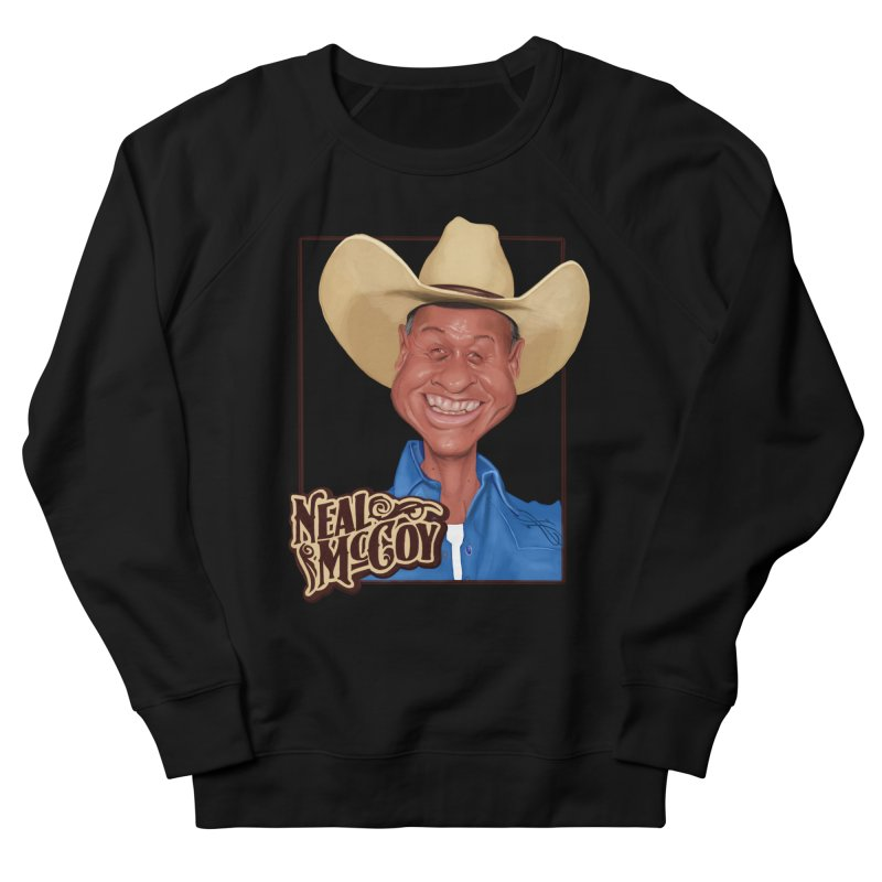 Country Legends Neal McCoy Women's French Terry Sweatshirt by goofyink's Artist Shop