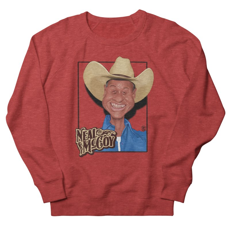 Country Legends Neal McCoy Men's French Terry Sweatshirt by goofyink's Artist Shop