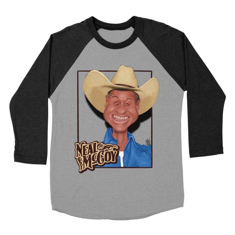 Country Legends Neal McCoy Women's Baseball Triblend Longsleeve T-Shirt by goofyink's Artist Shop