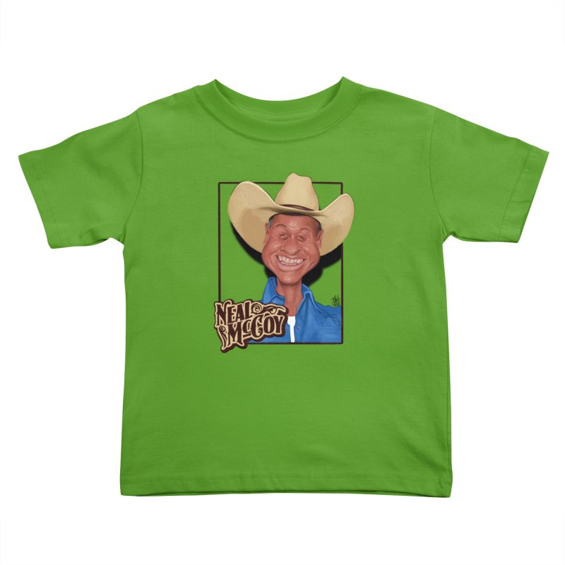Country Legends Neal McCoy Kids Toddler T-Shirt by goofyink's Artist Shop