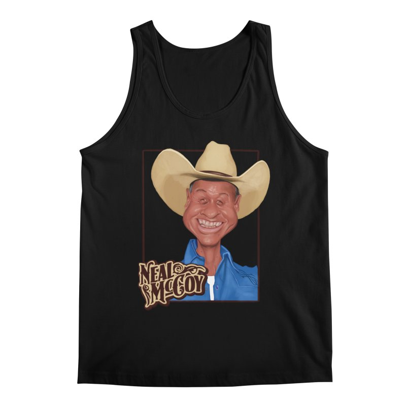 Country Legends Neal McCoy Men's Tank by goofyink's Artist Shop