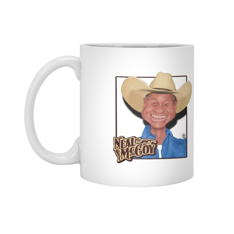Country Legends Neal McCoy Accessories Mug by goofyink's Artist Shop