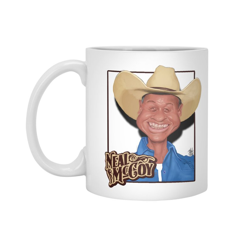 Country Legends Neal McCoy Accessories Standard Mug by goofyink's Artist Shop
