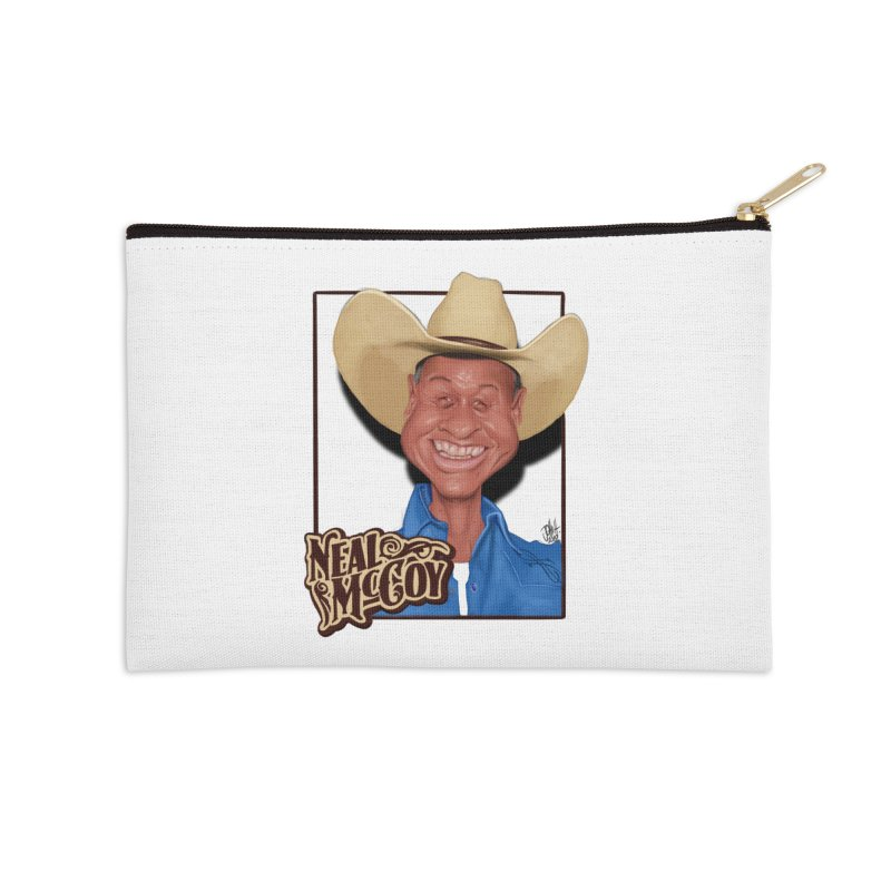 Country Legends Neal McCoy Accessories Zip Pouch by goofyink's Artist Shop