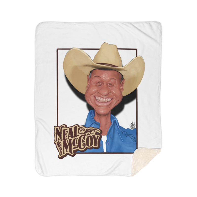 Country Legends Neal McCoy Home Sherpa Blanket Blanket by goofyink's Artist Shop