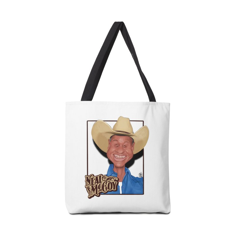 Country Legends Neal McCoy Accessories Tote Bag Bag by goofyink's Artist Shop