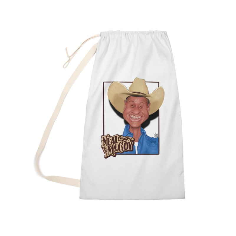 Country Legends Neal McCoy Accessories Laundry Bag Bag by goofyink's Artist Shop