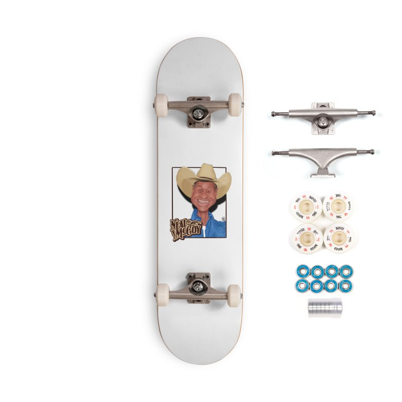 Country Legends Neal McCoy Accessories Complete - Premium Skateboard by goofyink's Artist Shop