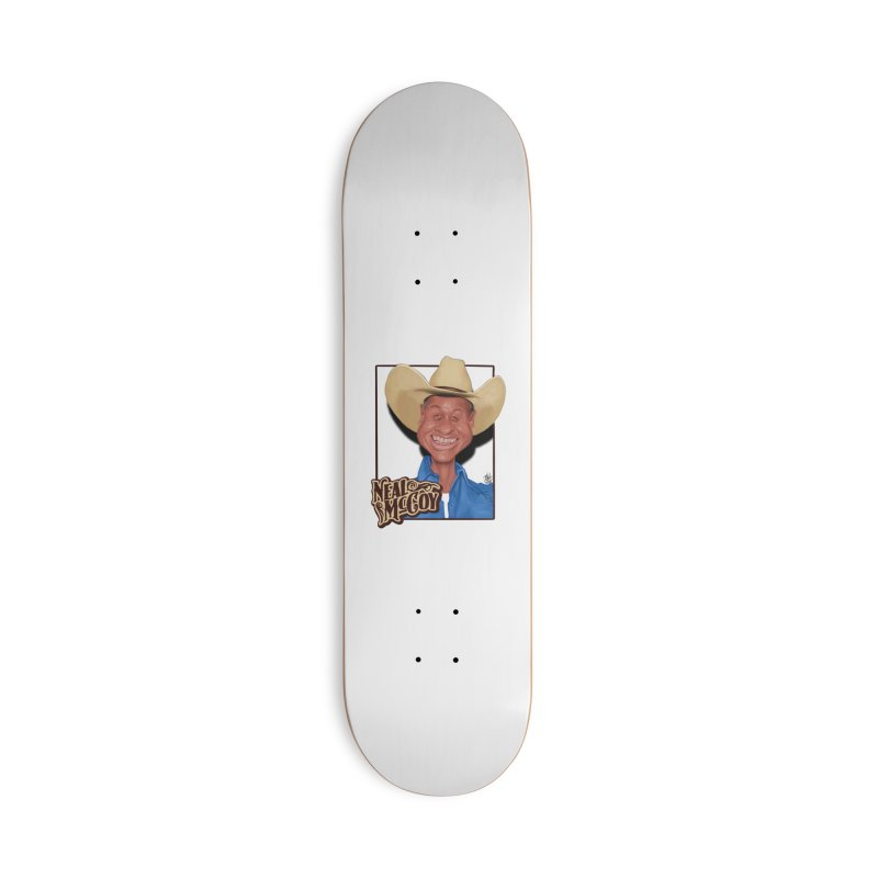 Country Legends Neal McCoy Accessories Deck Only Skateboard by goofyink's Artist Shop