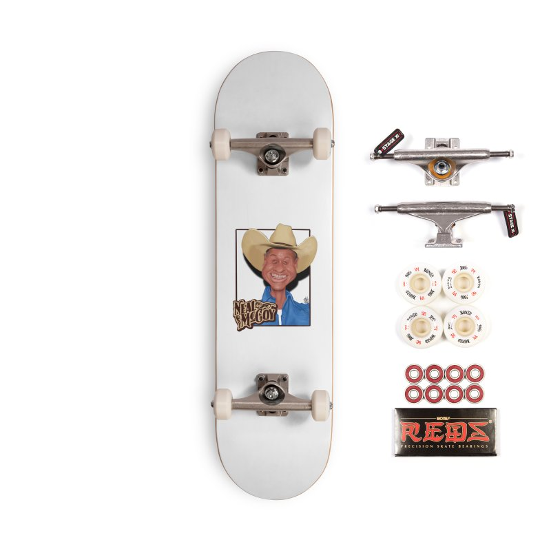 Country Legends Neal McCoy Accessories Complete - Pro Skateboard by goofyink's Artist Shop