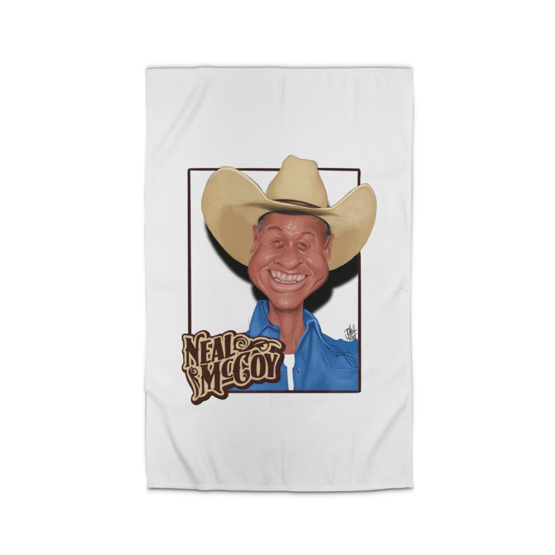 Country Legends Neal McCoy Home Rug by goofyink's Artist Shop