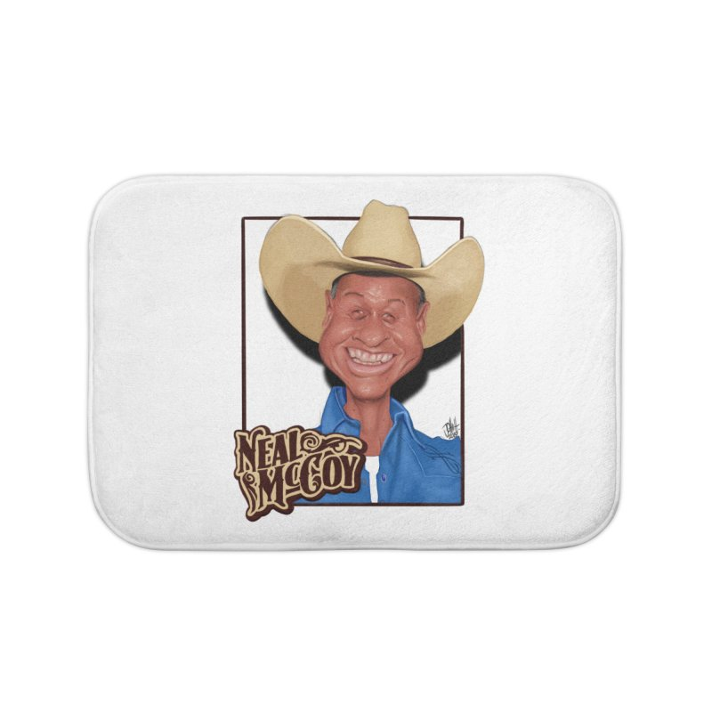 Country Legends Neal McCoy Home Bath Mat by goofyink's Artist Shop