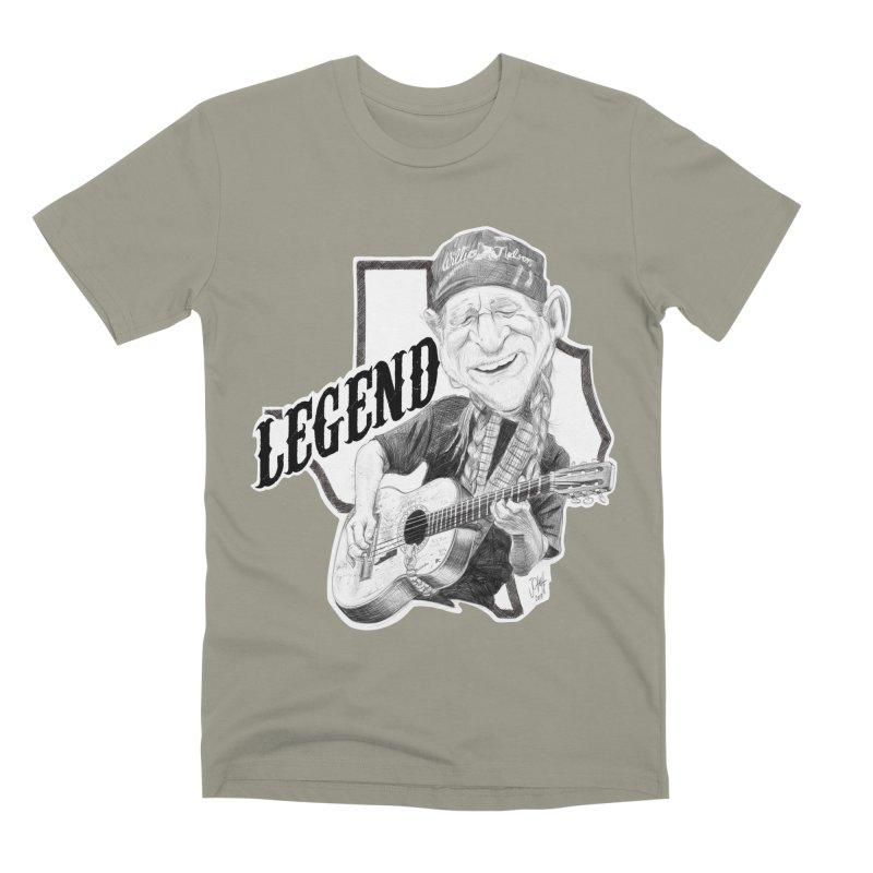 Willie Men's Premium T-Shirt by goofyink's Artist Shop