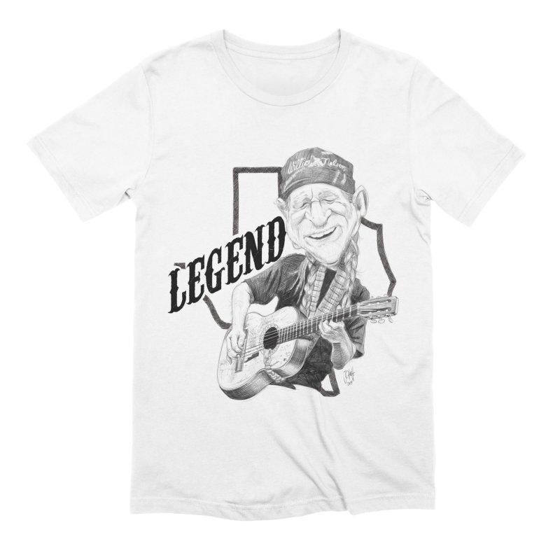 Willie Men's Extra Soft T-Shirt by goofyink's Artist Shop