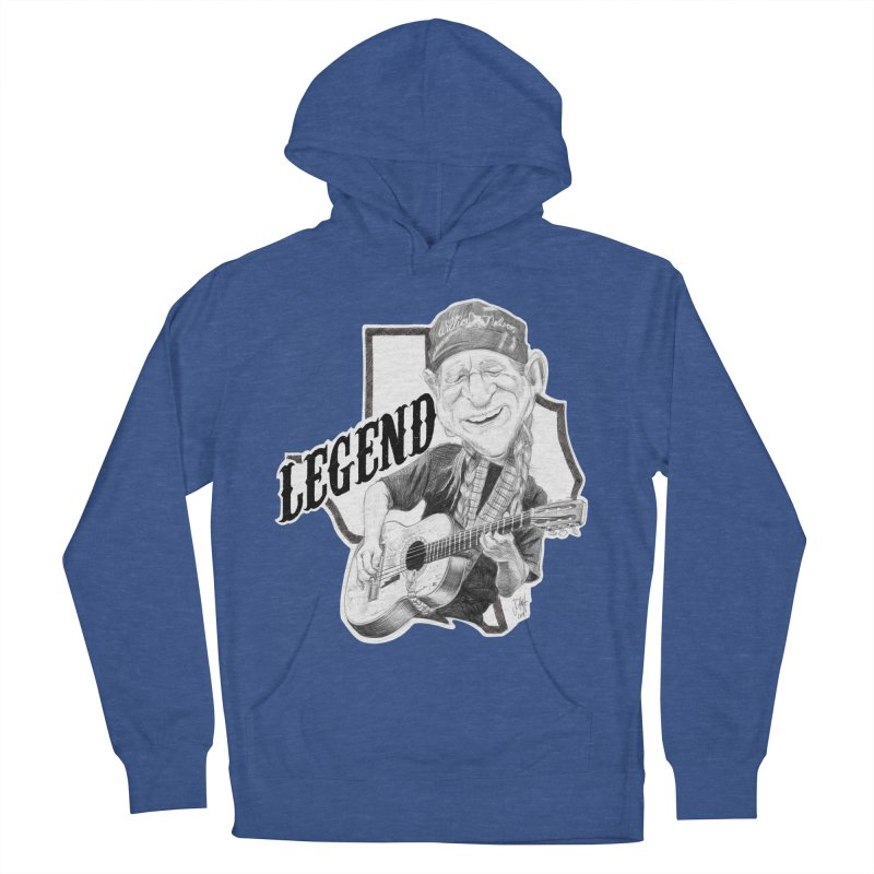 Willie Men's French Terry Pullover Hoody by goofyink's Artist Shop