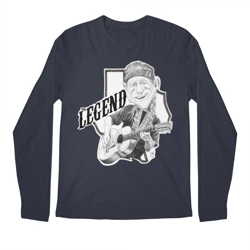 Willie Men's Longsleeve T-Shirt by goofyink's Artist Shop