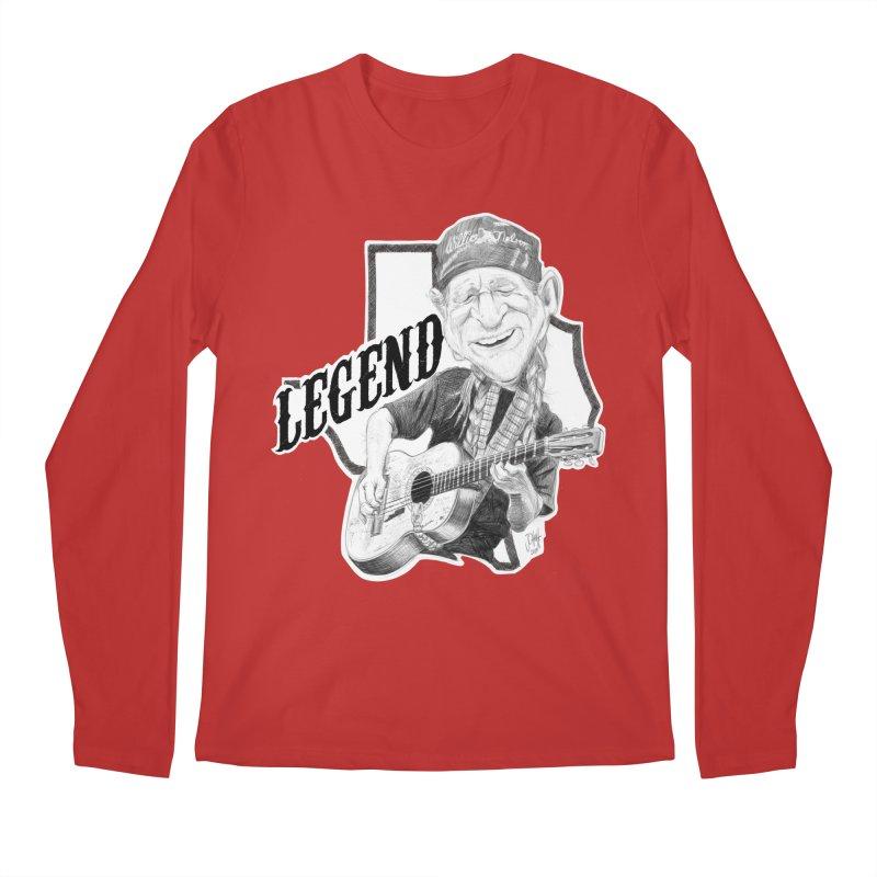 Willie Men's Regular Longsleeve T-Shirt by goofyink's Artist Shop