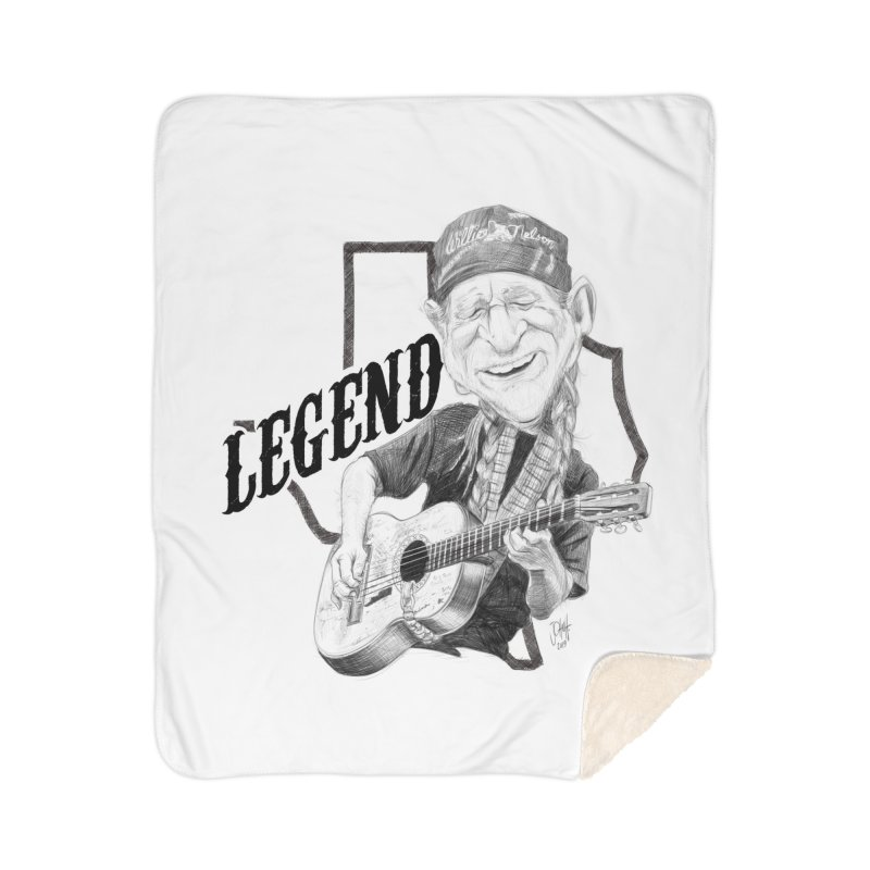 Willie Home Blanket by goofyink's Artist Shop