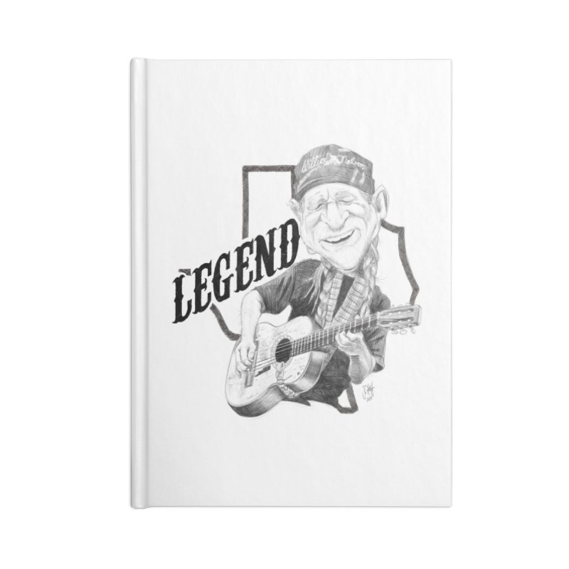 Willie Accessories Lined Journal Notebook by goofyink's Artist Shop