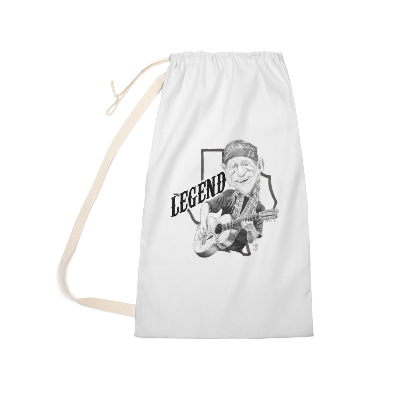 Willie Accessories Laundry Bag Bag by goofyink's Artist Shop