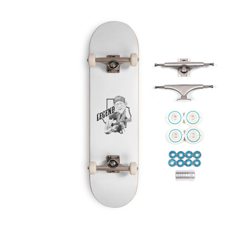 Willie Accessories Complete - Basic Skateboard by goofyink's Artist Shop