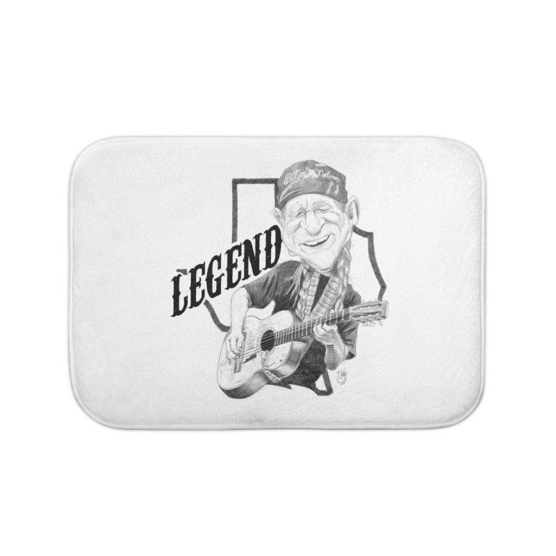 Willie Home Bath Mat by goofyink's Artist Shop