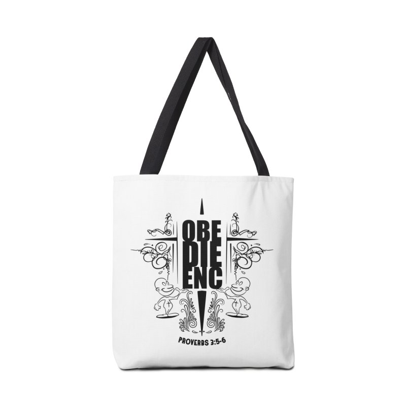 Obedience Proverbs 3:5-6 Accessories Bag by goofyink's Artist Shop