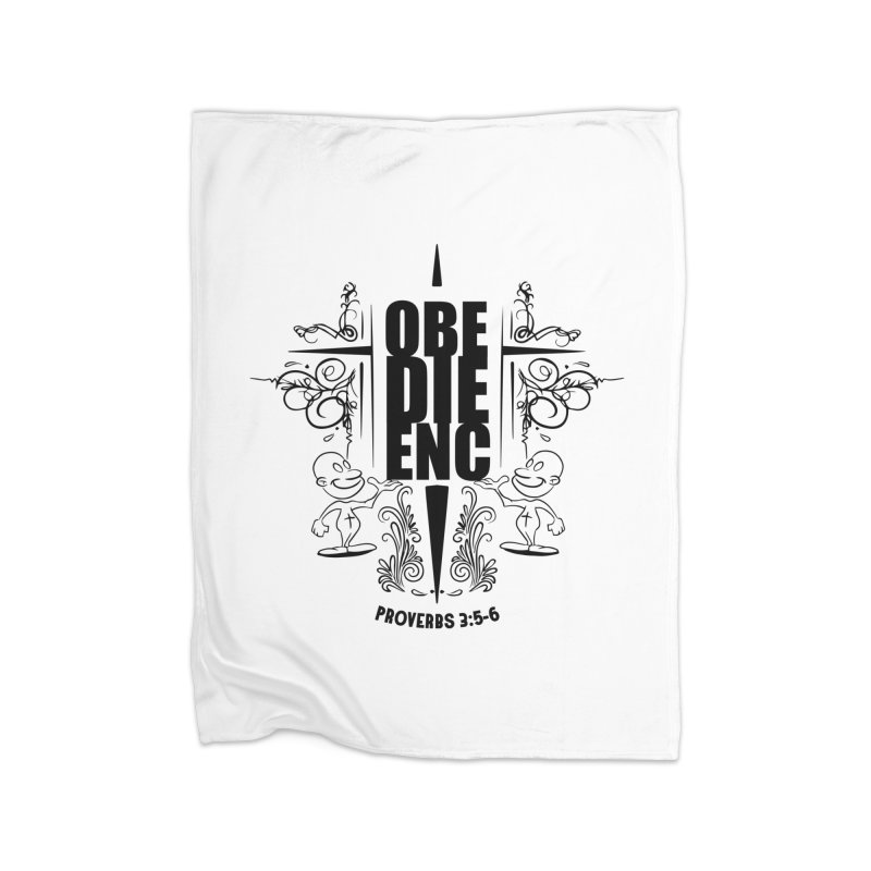 Obedience Proverbs 3:5-6 Home Blanket by goofyink's Artist Shop