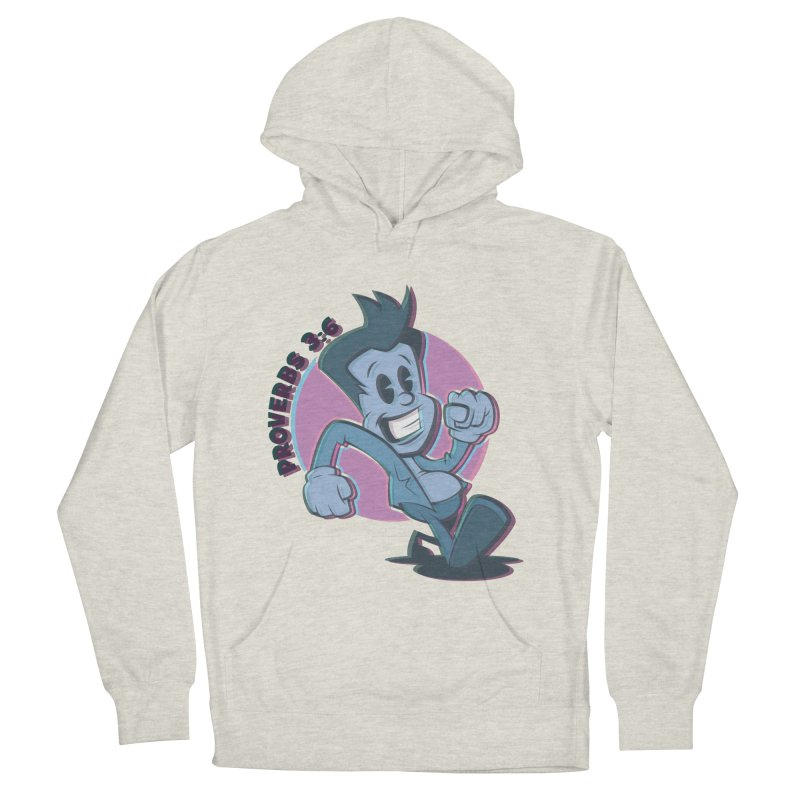 Proverbs 3:6 Man Women's Pullover Hoody by goofyink's Artist Shop