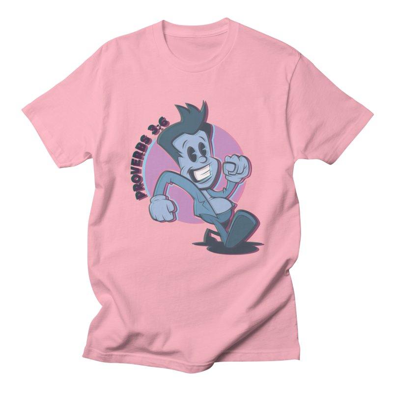 Proverbs 3:6 Man Men's T-Shirt by goofyink's Artist Shop