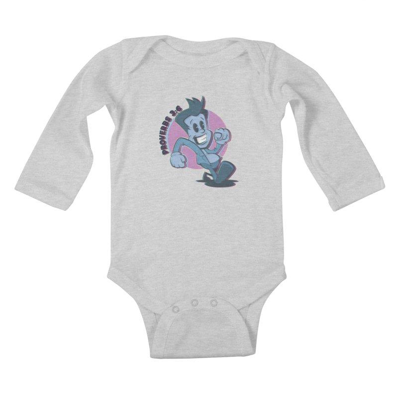 Proverbs 3:6 Man Kids Baby Longsleeve Bodysuit by goofyink's Artist Shop