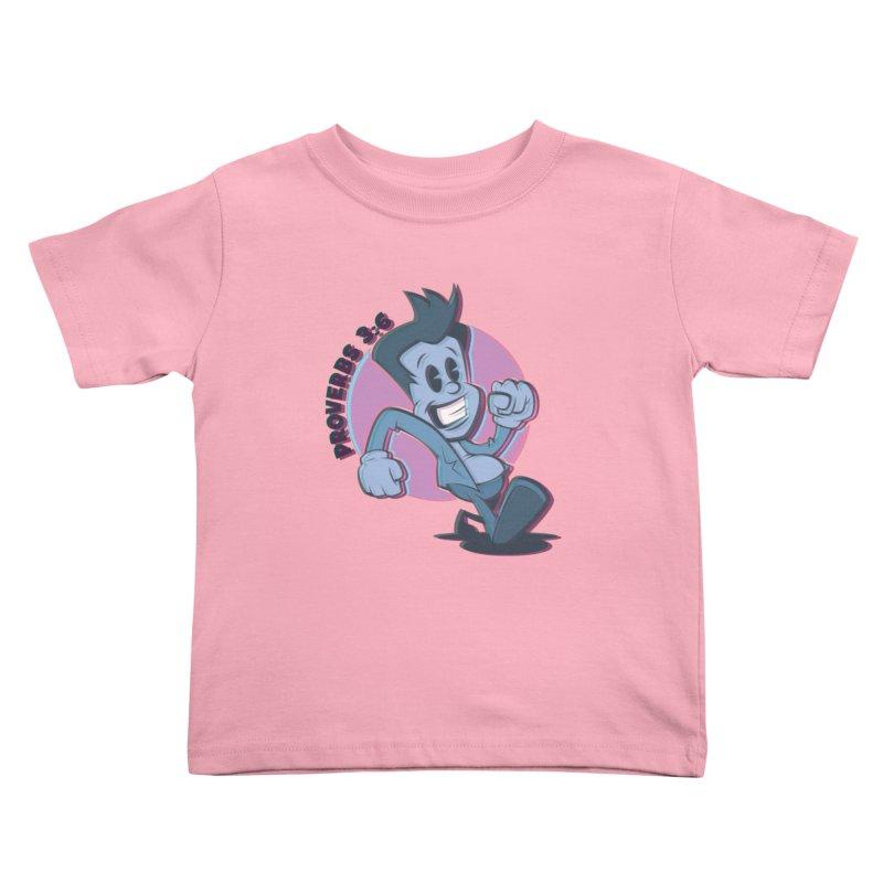 Proverbs 3:6 Man Kids Toddler T-Shirt by goofyink's Artist Shop