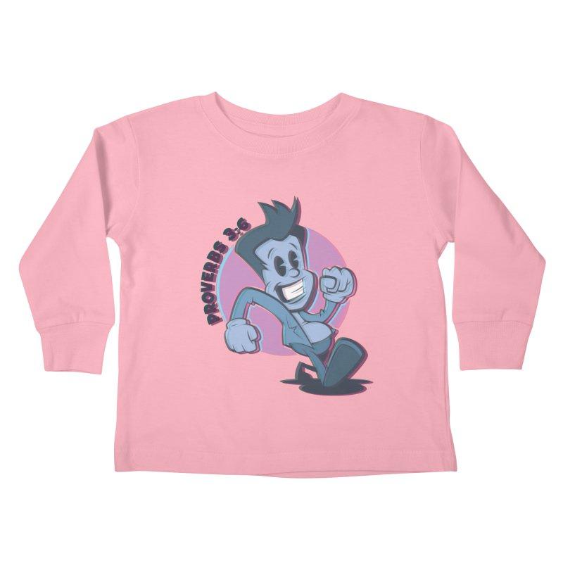 Proverbs 3:6 Man Kids Toddler Longsleeve T-Shirt by goofyink's Artist Shop