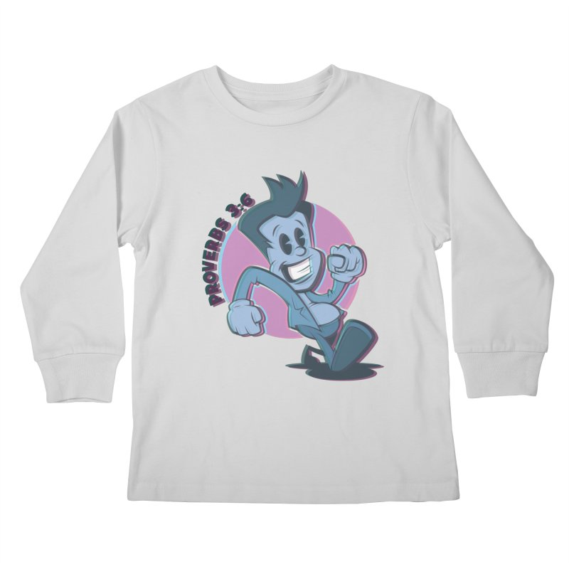Proverbs 3:6 Man Kids Longsleeve T-Shirt by goofyink's Artist Shop