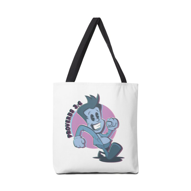 Proverbs 3:6 Man Accessories Bag by goofyink's Artist Shop