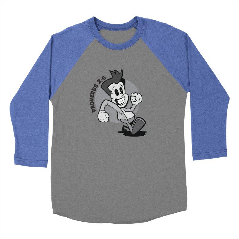 Proverbs 3:6 Man Women's Longsleeve T-Shirt by goofyink's Artist Shop