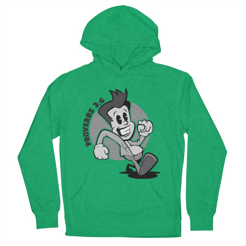 Proverbs 3:6 Man Men's Pullover Hoody by goofyink's Artist Shop