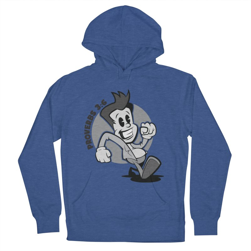 Proverbs 3:6 Man Men's French Terry Pullover Hoody by goofyink's Artist Shop