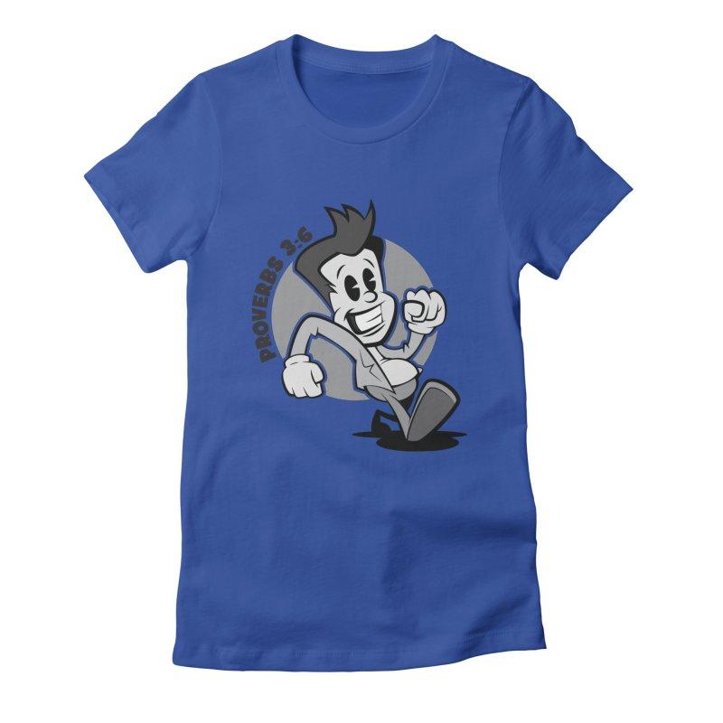 Proverbs 3:6 Man Women's T-Shirt by goofyink's Artist Shop