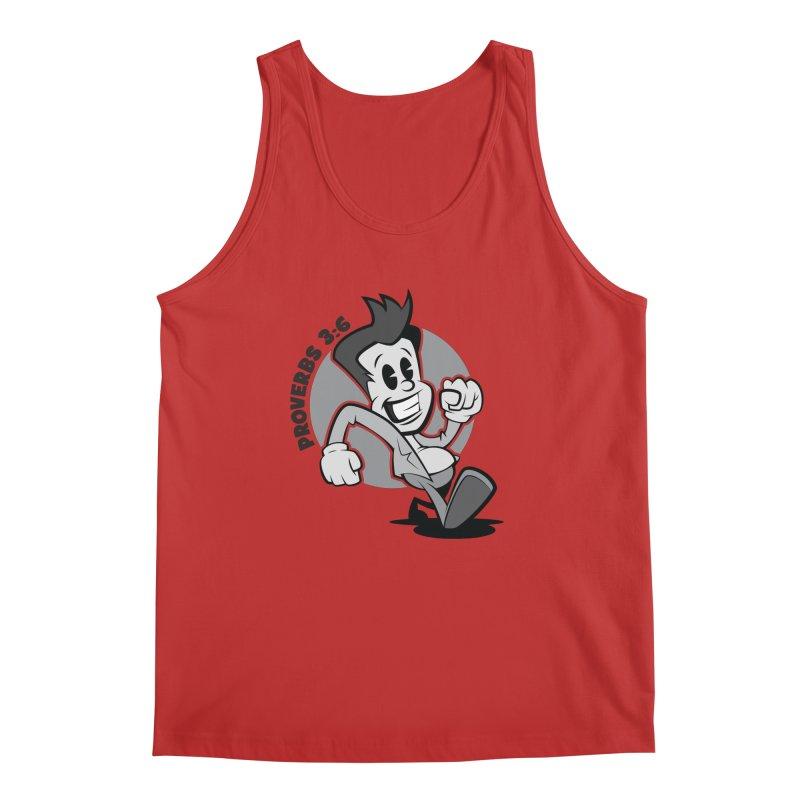 Proverbs 3:6 Man Men's Tank by goofyink's Artist Shop