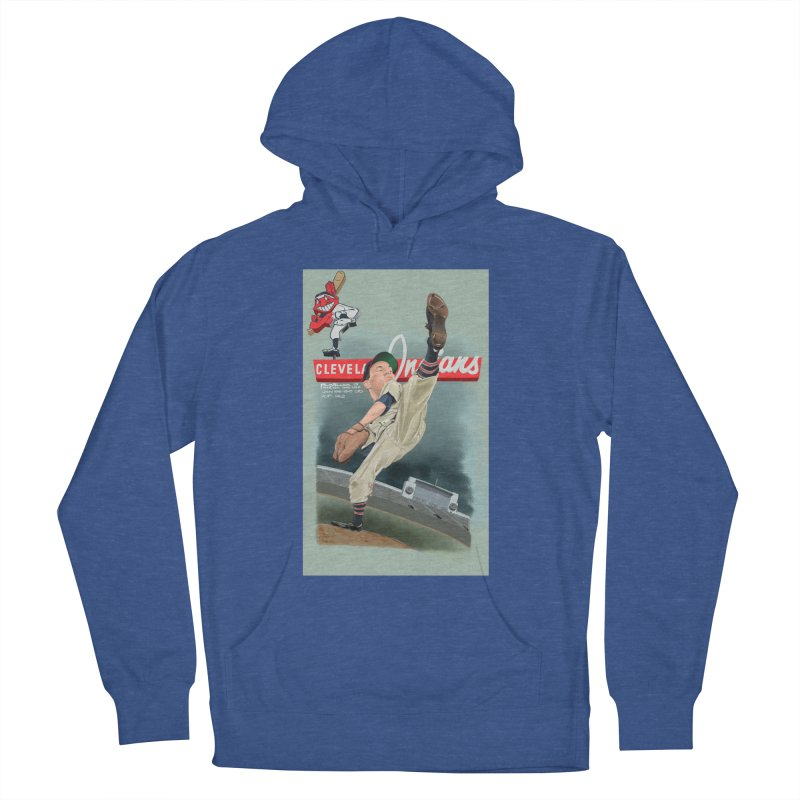 Bob Feller MLB HOF Men's Pullover Hoody by goofyink's Artist Shop