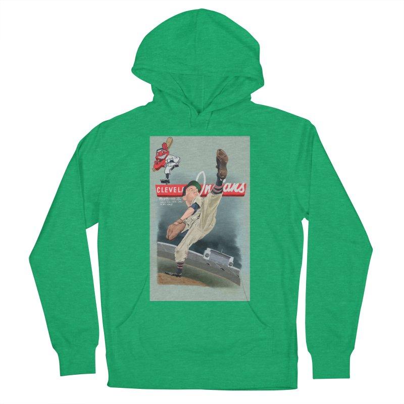 Bob Feller MLB HOF Women's French Terry Pullover Hoody by goofyink's Artist Shop