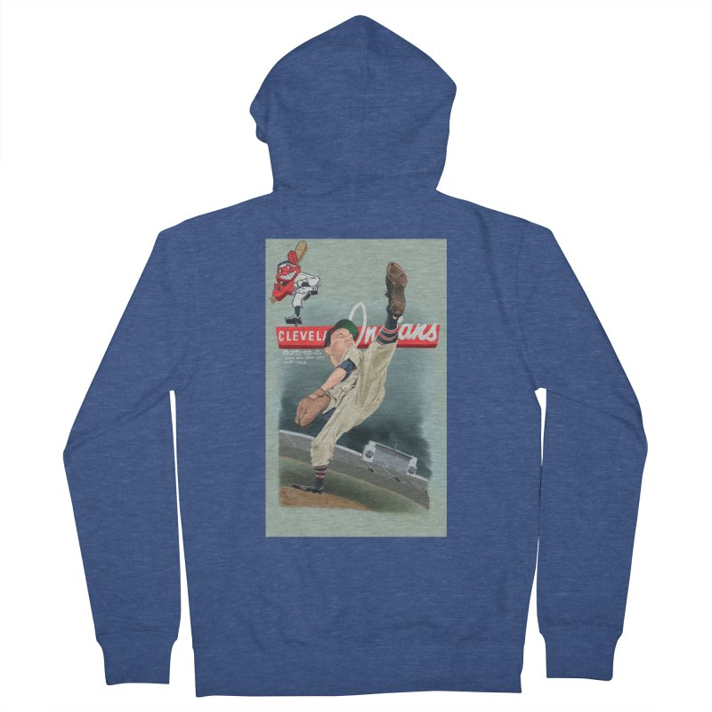 Bob Feller MLB HOF Women's Zip-Up Hoody by goofyink's Artist Shop