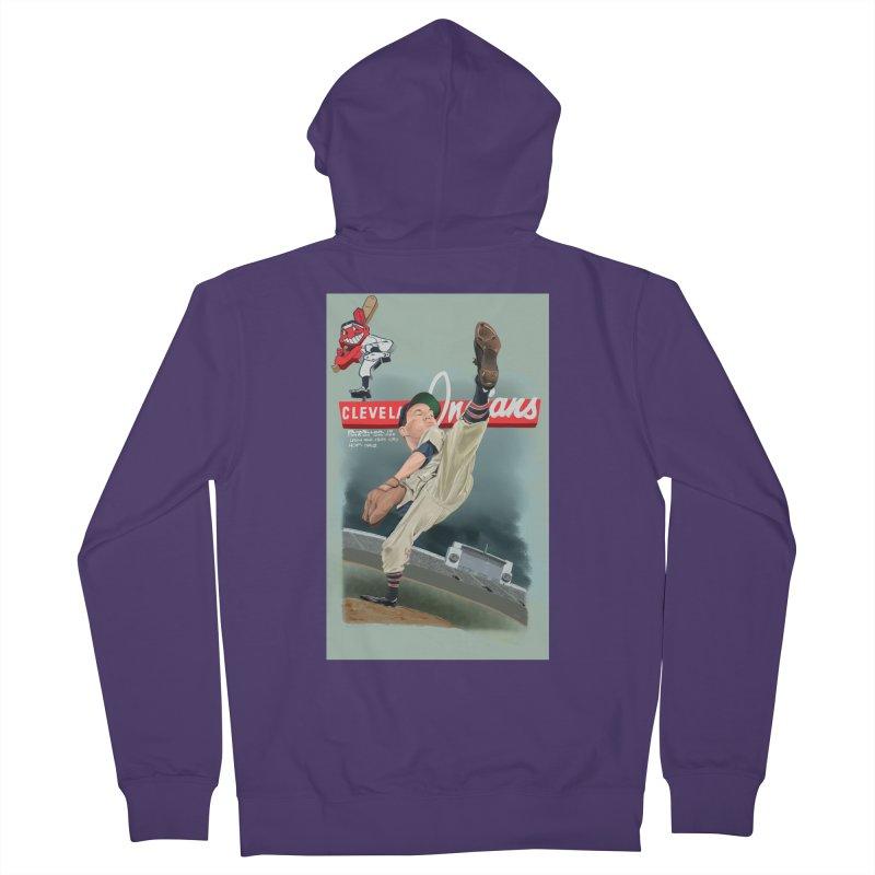Bob Feller MLB HOF Women's Zip-Up Hoody by goofyink's Artist Shop