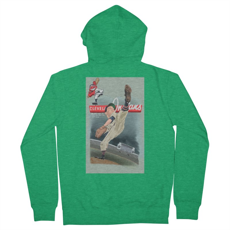 Bob Feller MLB HOF Men's Zip-Up Hoody by goofyink's Artist Shop