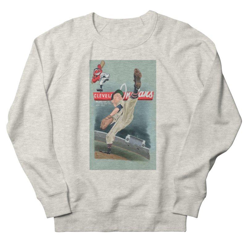 Bob Feller MLB HOF Women's French Terry Sweatshirt by goofyink's Artist Shop