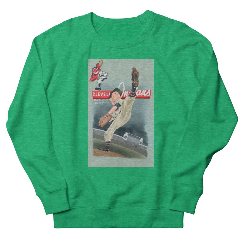 Bob Feller MLB HOF Men's Sweatshirt by goofyink's Artist Shop