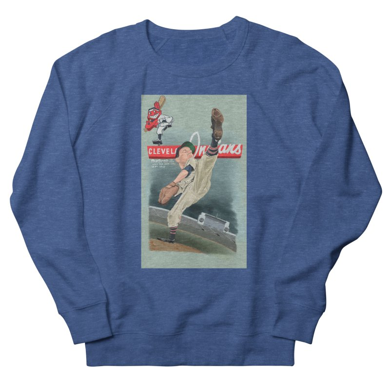 Bob Feller MLB HOF Men's Sweatshirt by goofyink's Artist Shop